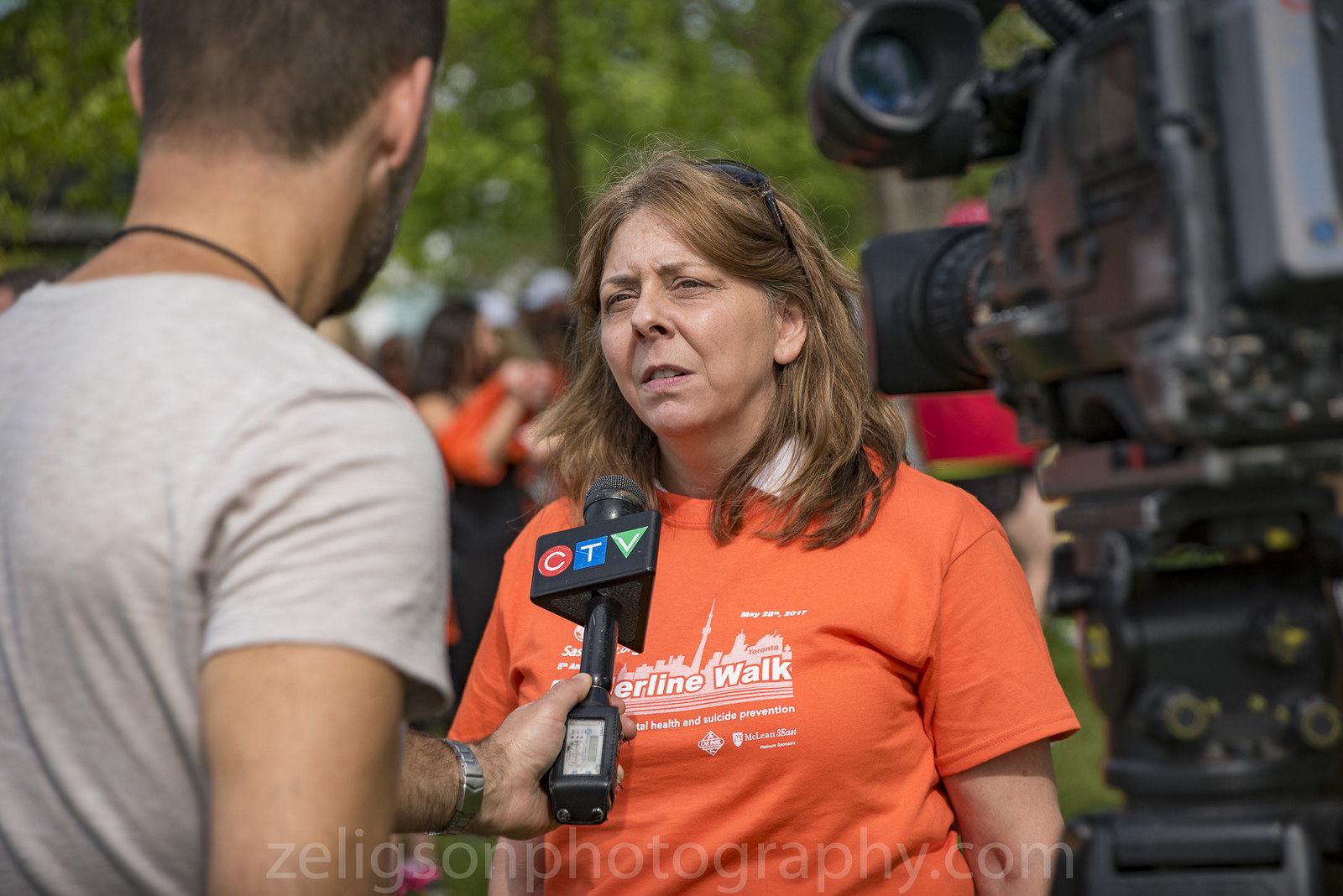 CTV Toronto interview, click to view